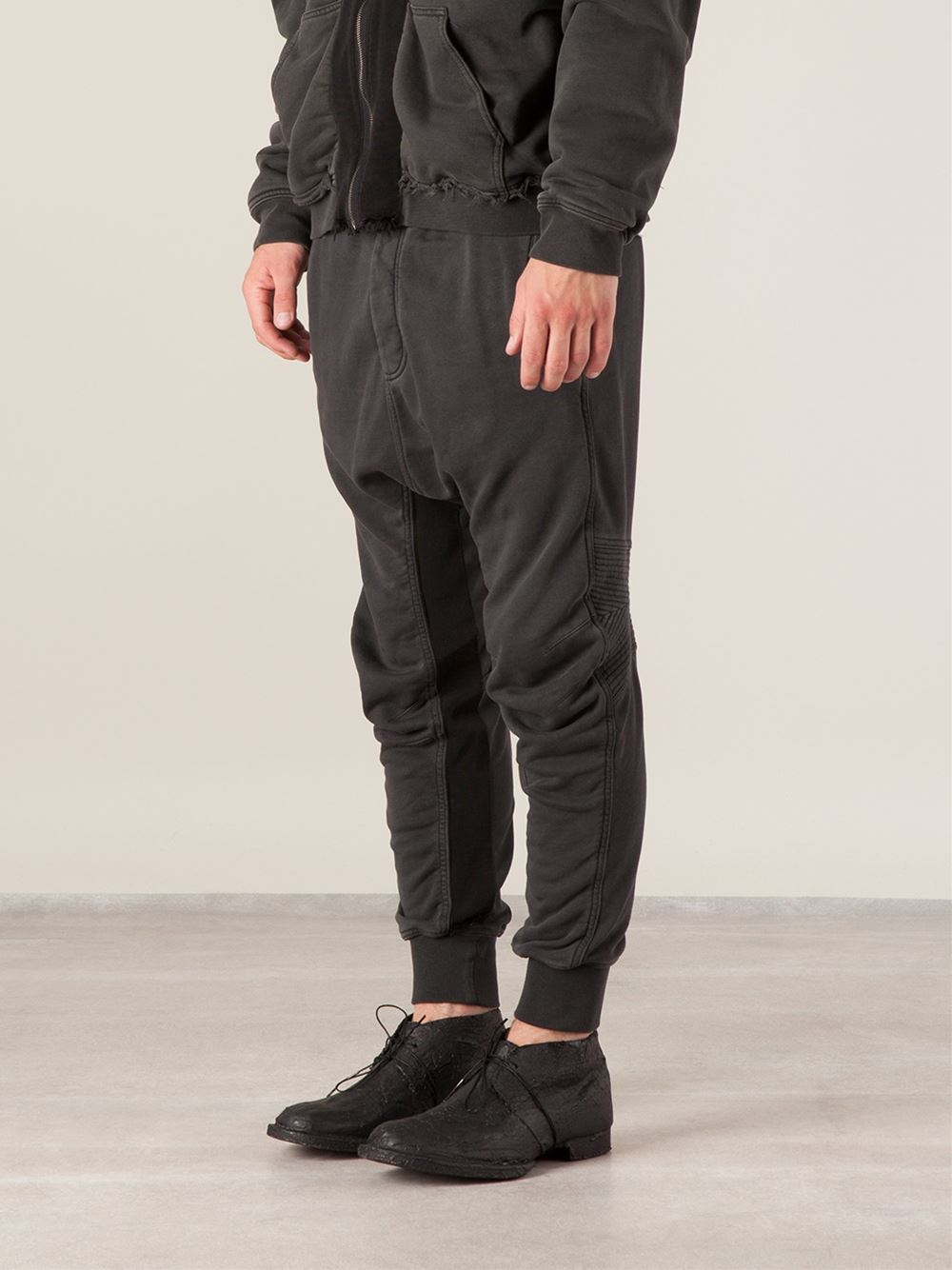 Lyst Haider Ackermann Drop Crotch Sweat Pants In Black
