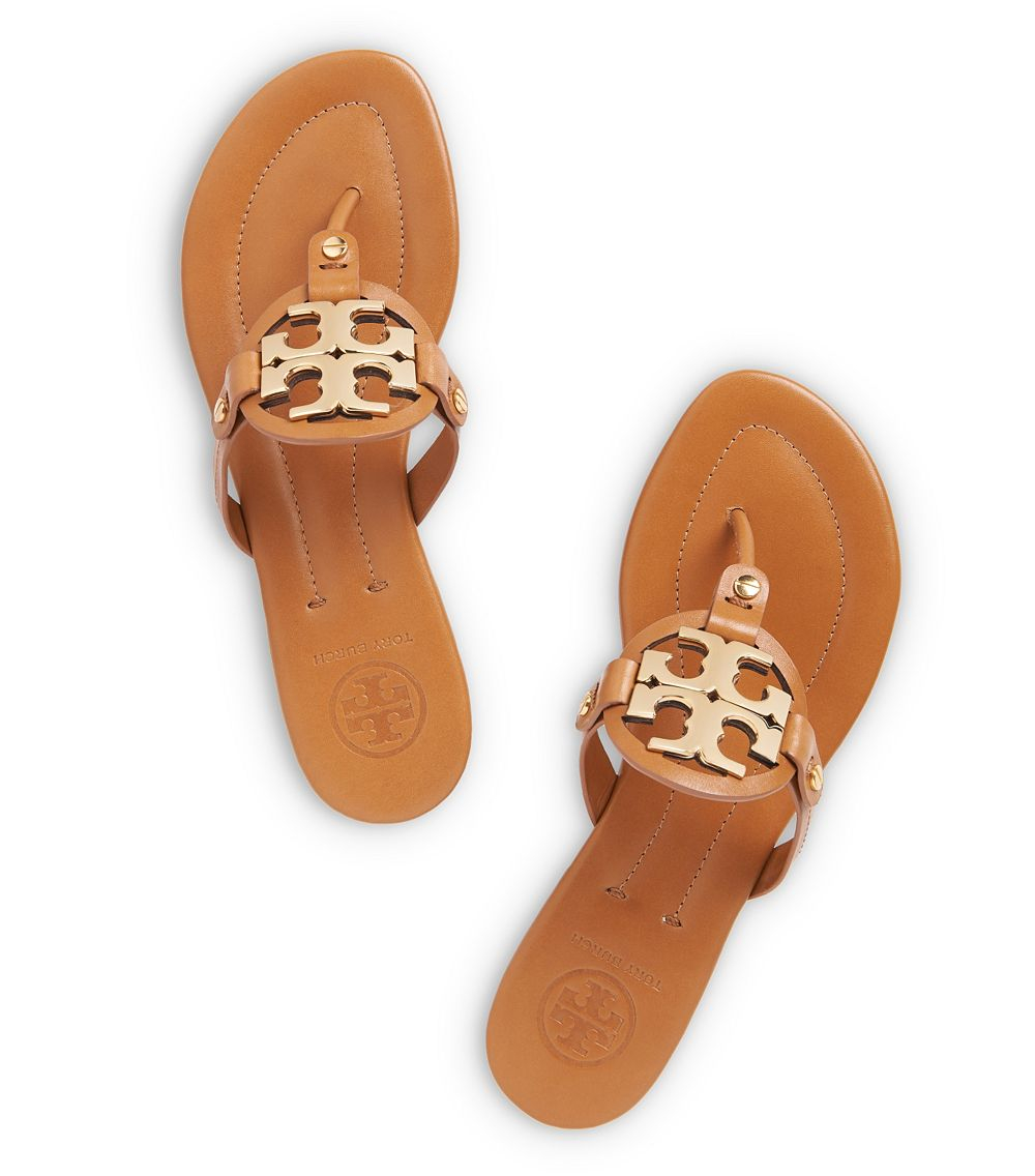 78dfbdc4015c7 Lyst - Tory Burch Miller 2 Sandal in Brown