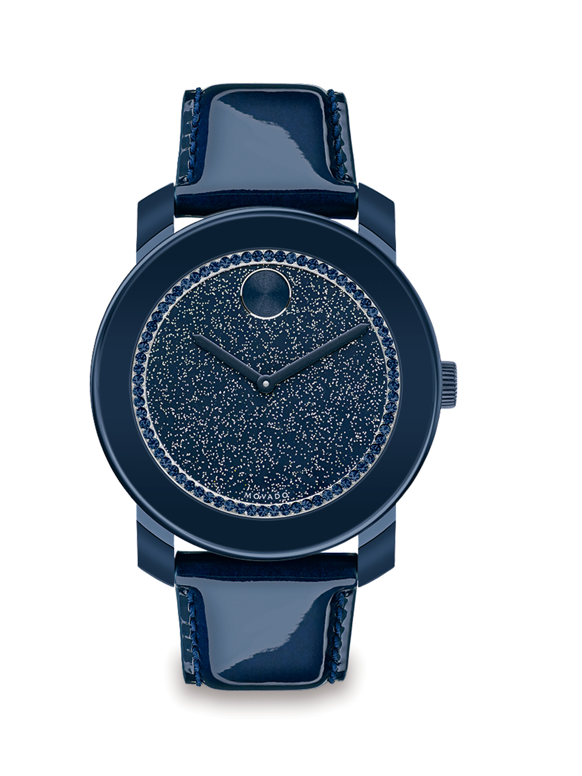 Movado Bold Stainless Steel, Glitter & Patent Leather ...