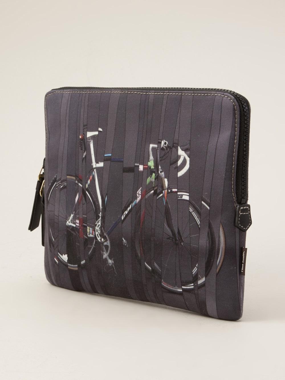 710898b575 Lyst - Paul Smith 9 Bikes Ipad Case in Gray