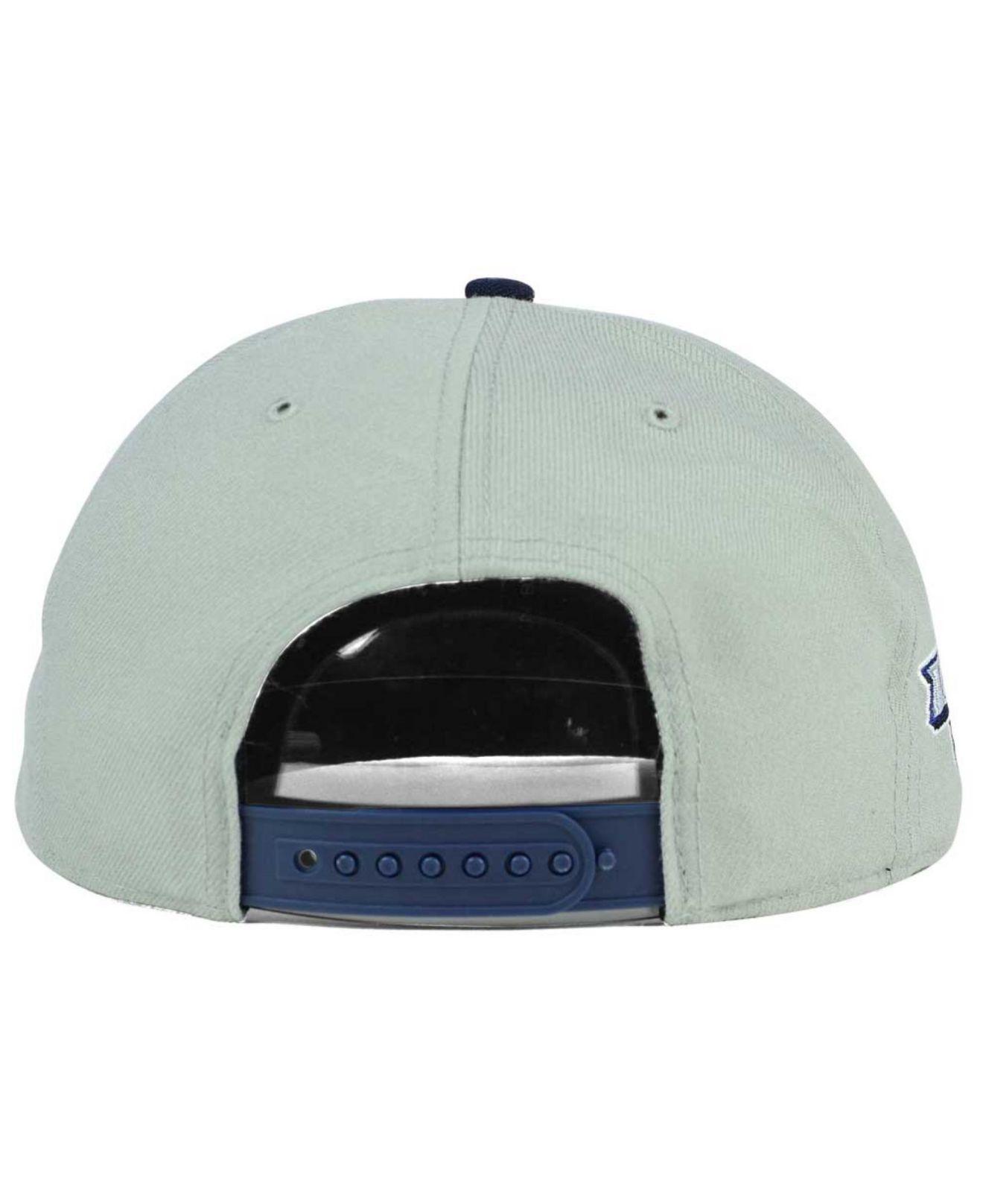 ff0a2cbc2c677 ... clean up cap e5e28 b49d9  clearance lyst 47 brand st. louis blues sure  shot snapback cap in blue for men