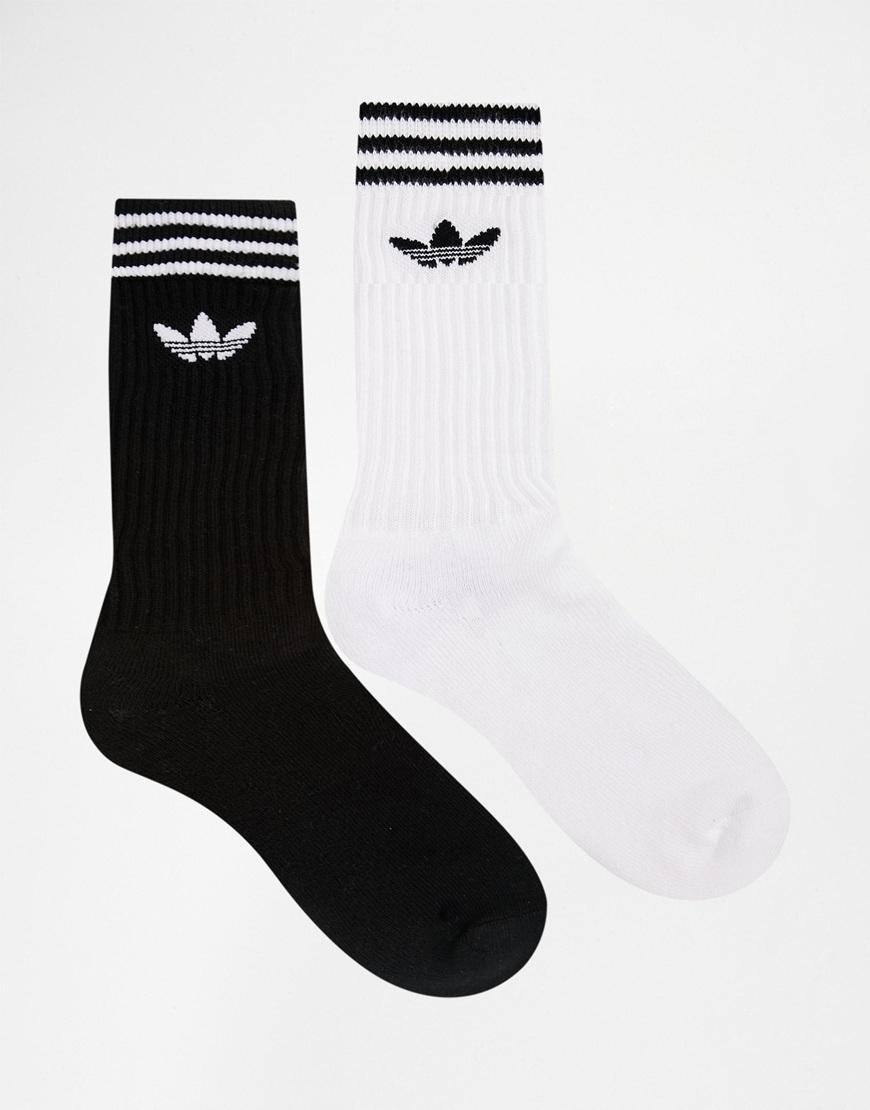 Lyst adidas Originals 2 Pack calcetines del equipo en multi aj8916 para hombres