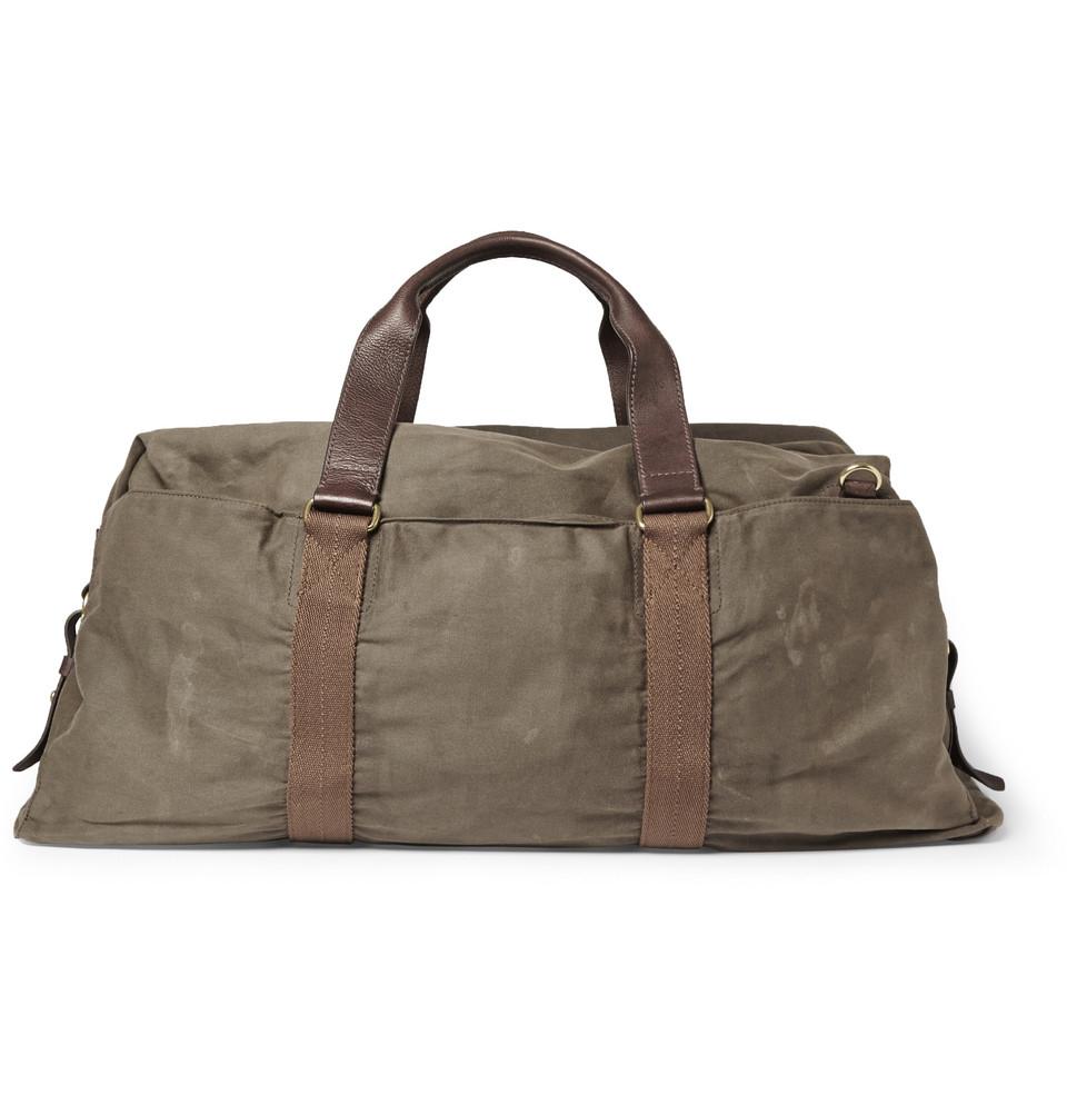 3c628cf06f2 Waxed Canvas Duffle Bag Canada   ReGreen Springfield