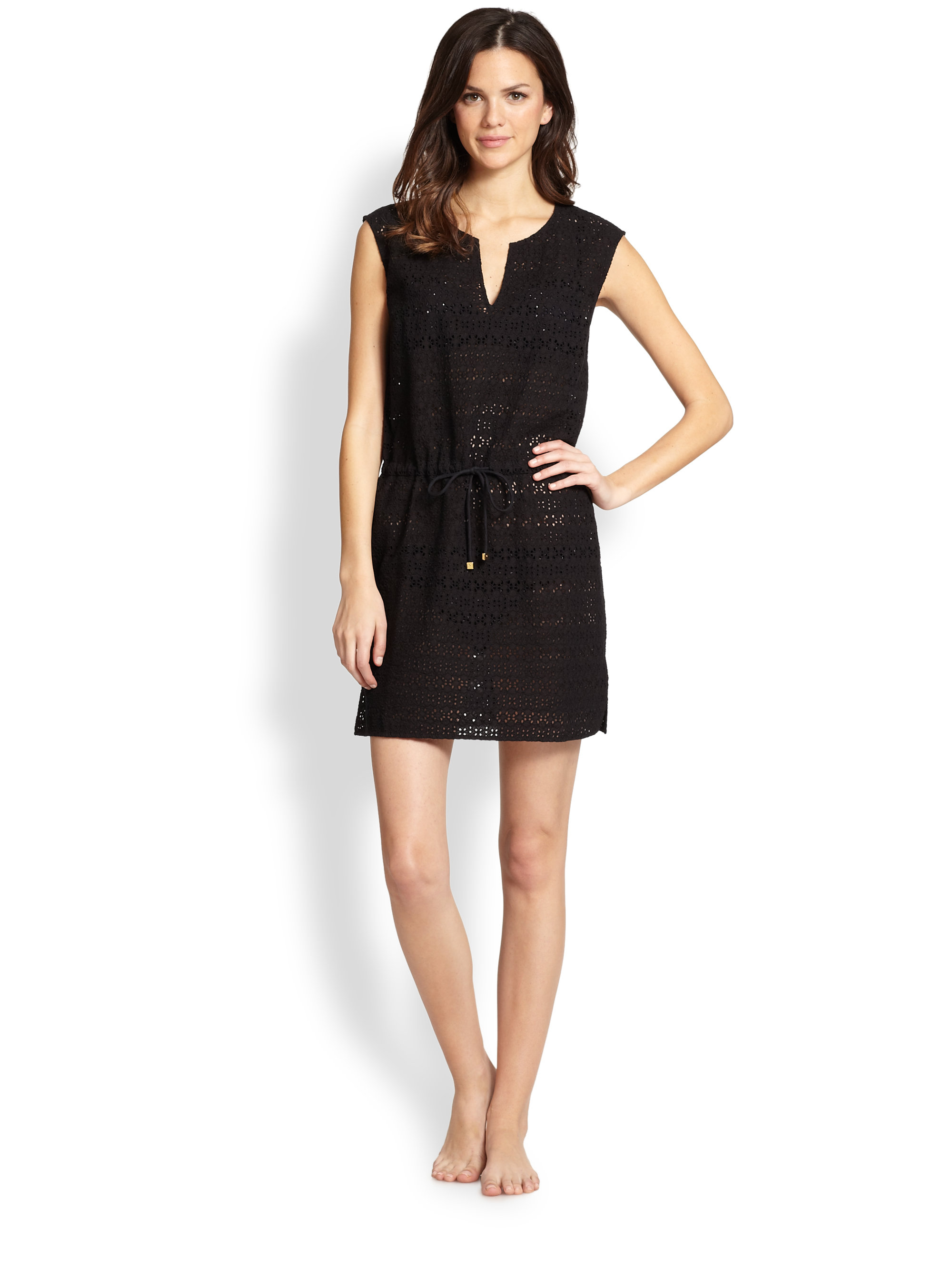 Black dress on sale tory