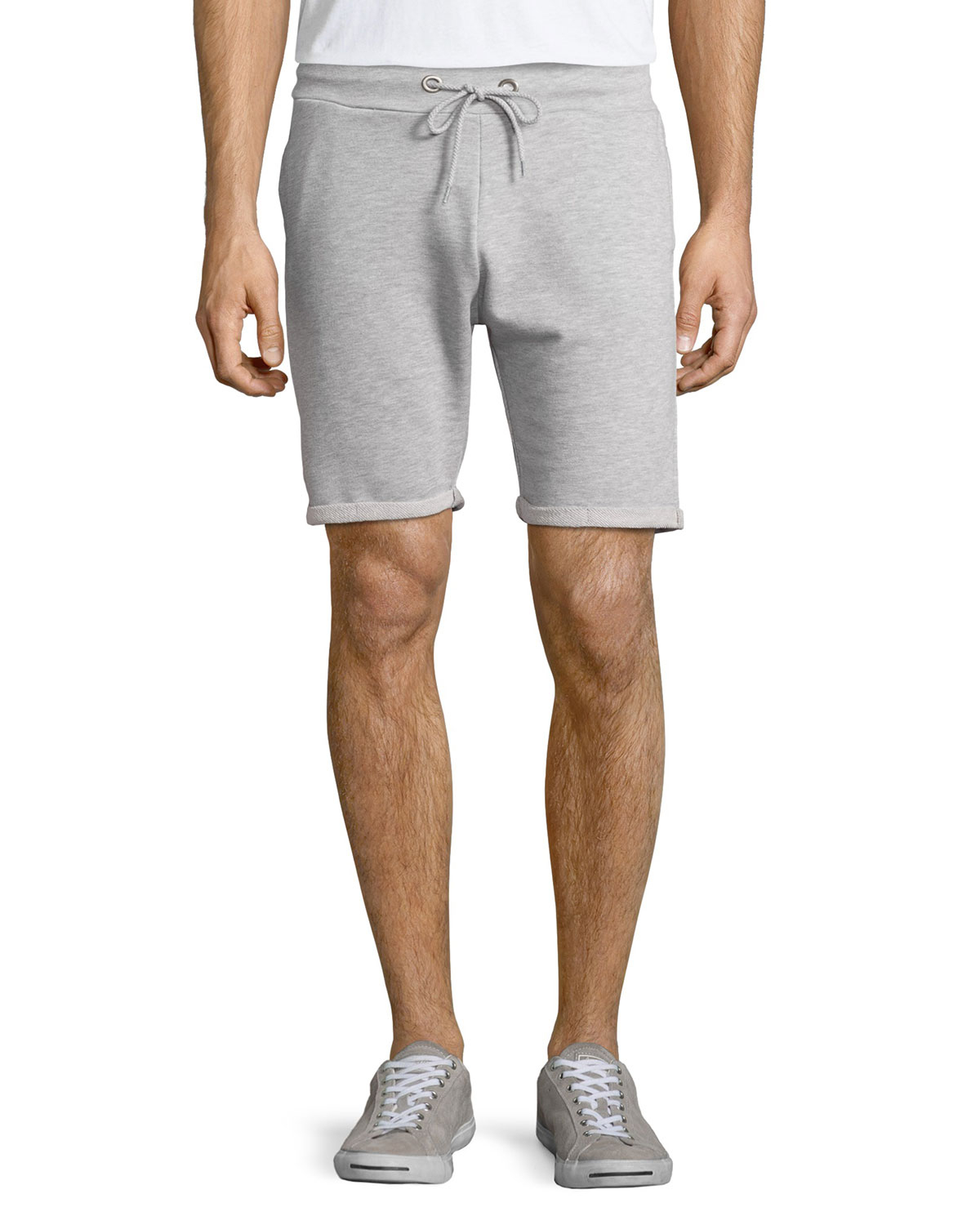 Sovereign code Edmonton Rolled-hem Drawstring Shorts in Gray for ...