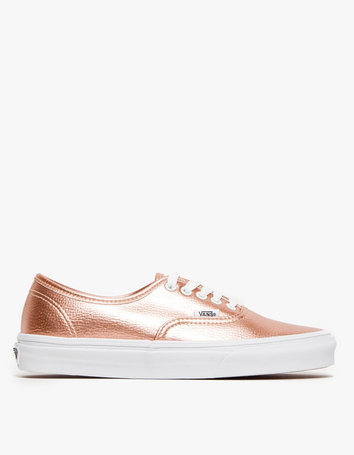 2f42a6092db Vans Authentic in Rose Glitter in Pink - Lyst