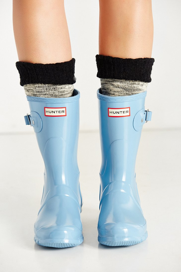 buy cheap footlocker pictures Hunter Original Short Wellies In Blue free shipping pick a best shop sale online outlet official site BXSks