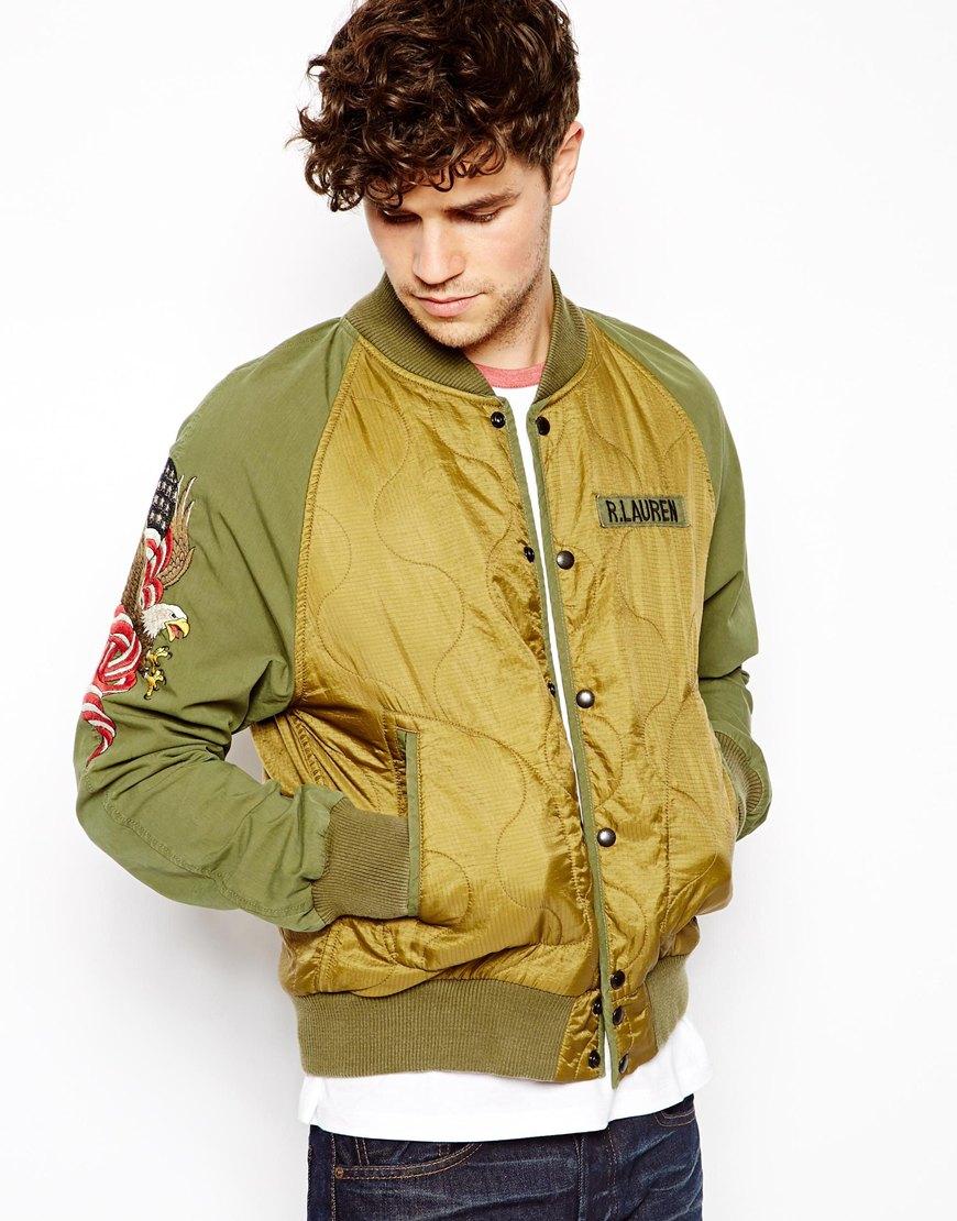 Gallery - Ralph Lauren Denim Supply Ralph Lauren Embellished Bomber Jacket
