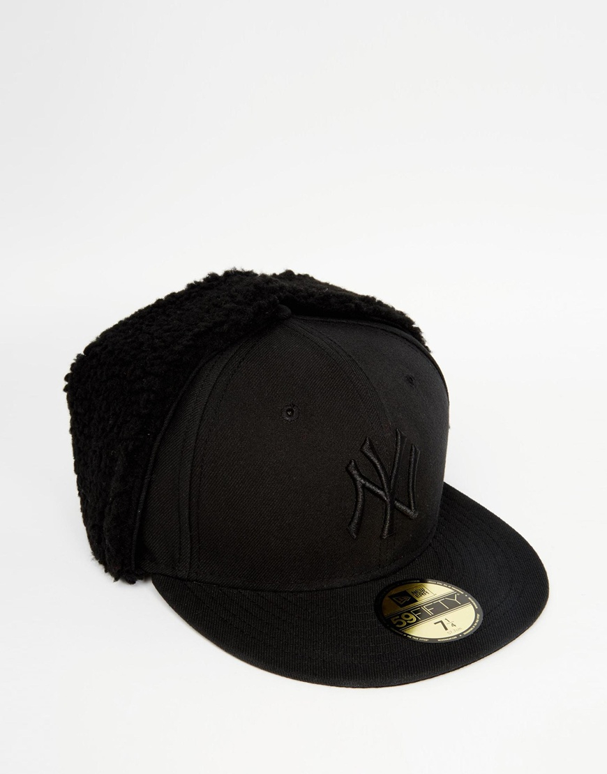 09e2b9b9020c1 KTZ Hat With Ear Flaps in Black for Men - Lyst