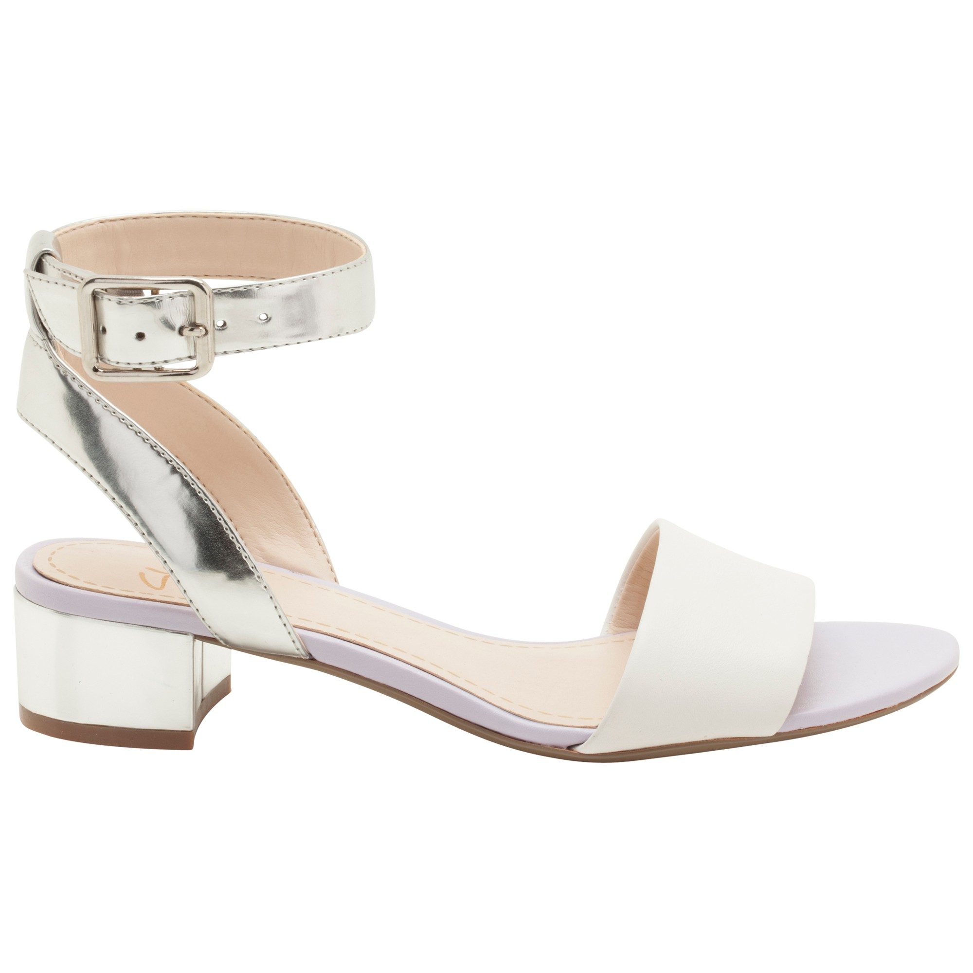 06a2281bb0cc Clarks Sharna Balcony Sandals in White - Lyst
