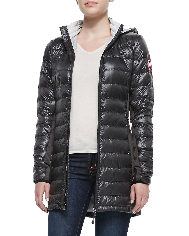 Canada Goose langford parka replica store - Canada goose Hybridge? Lite Hooded Coat in Black | Lyst