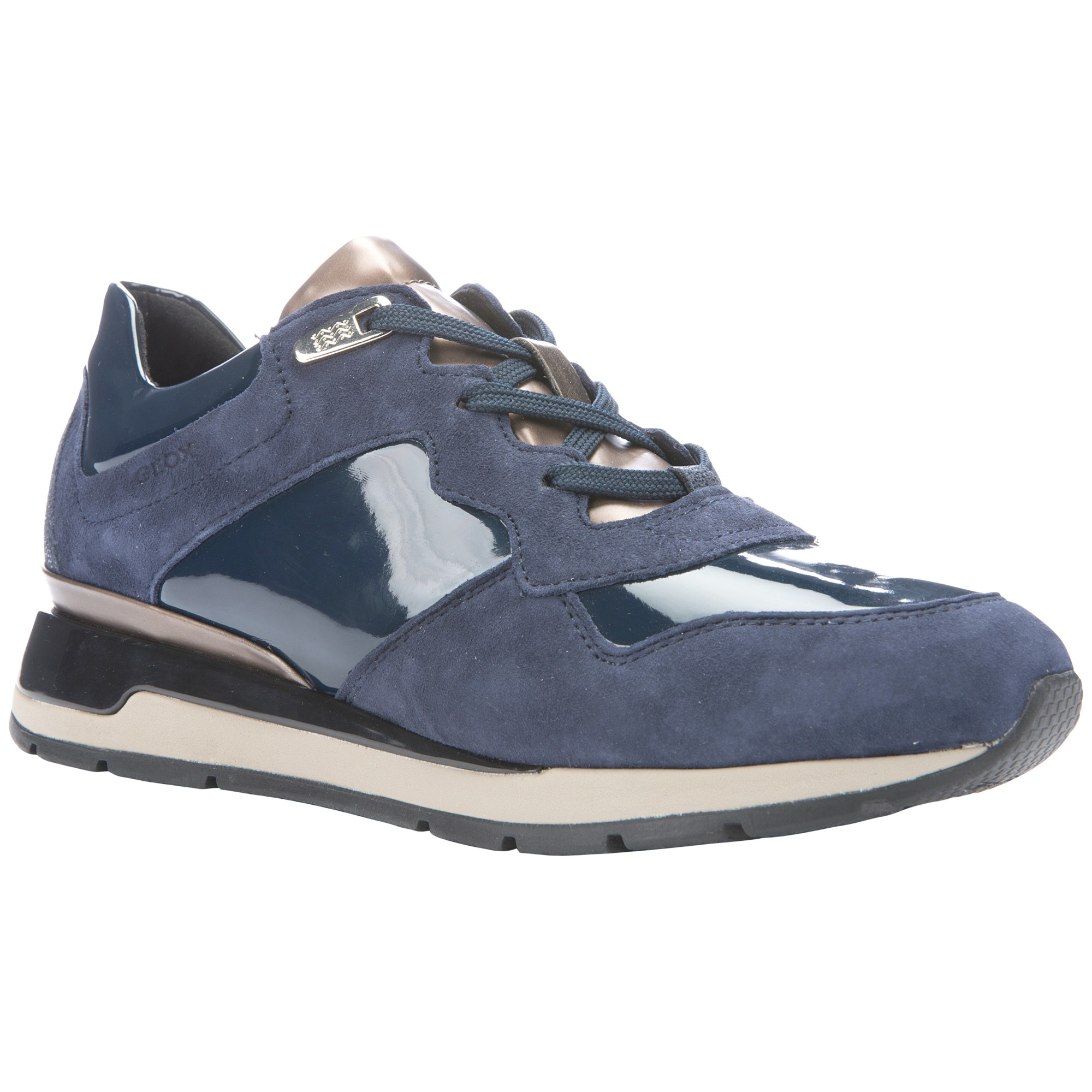 Geox Baskets Shahira - Bleu 6sn6e0HD7X