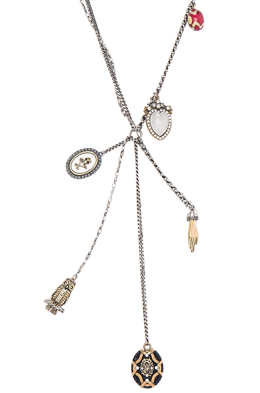 Alexander McQueen charm necklace - Metallic 5nBNZSW3y