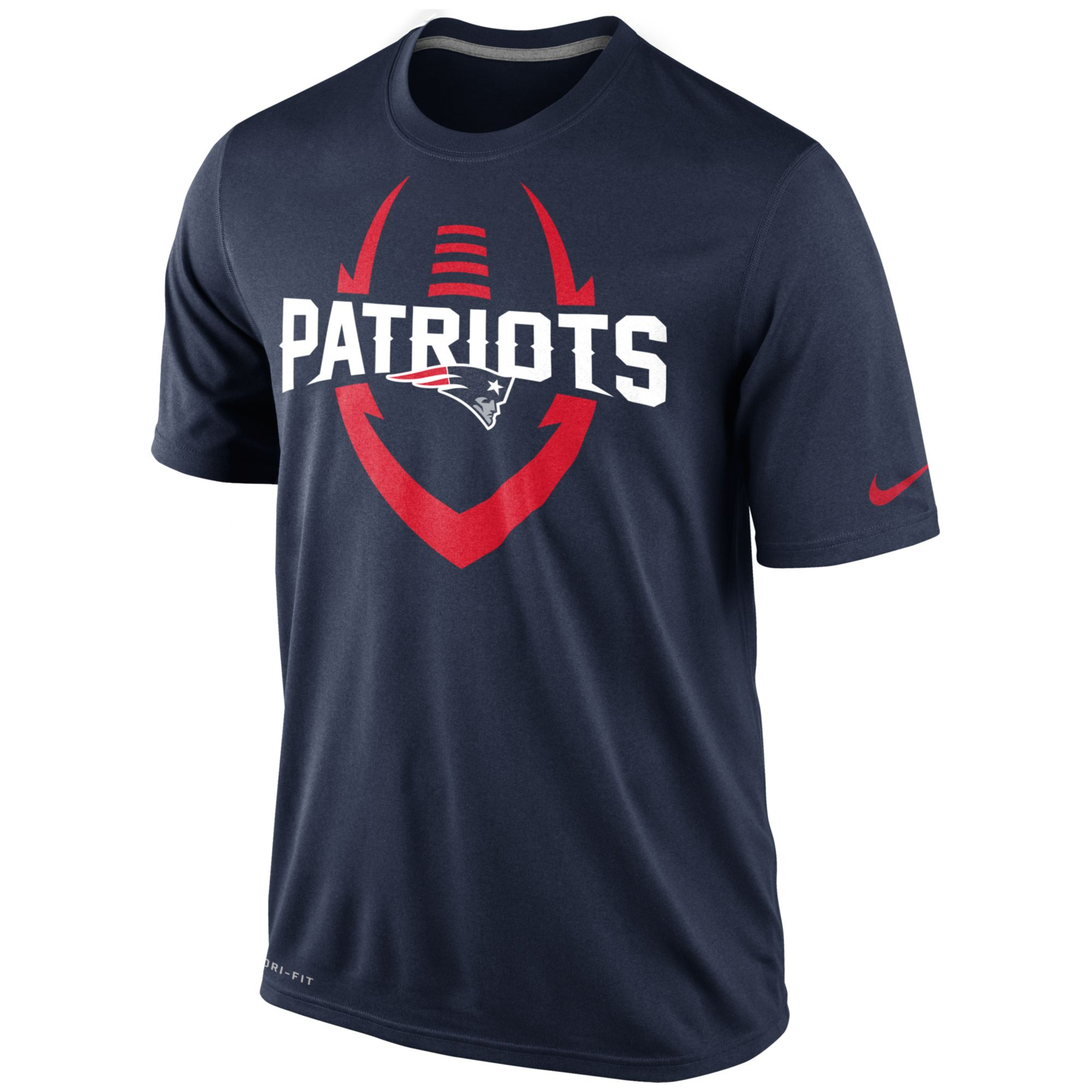 Nike men 39 s short sleeve new england patriots t shirt in New england patriots shirts