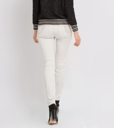 Jeans Leathers Leather Detail Jeans in