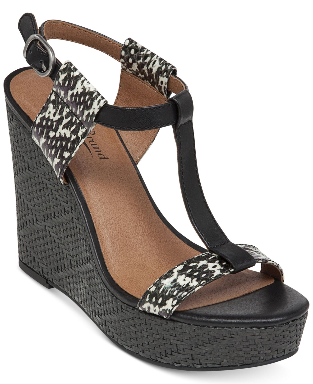 Lyst - Lucky Brand Women's Lovell Platform Wedge Sandals