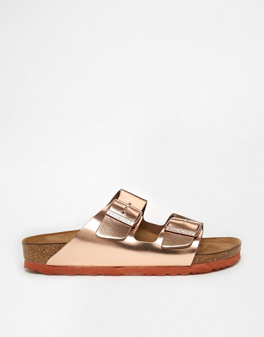 Arizona Metallic Slide Sandals DLPPXmKq