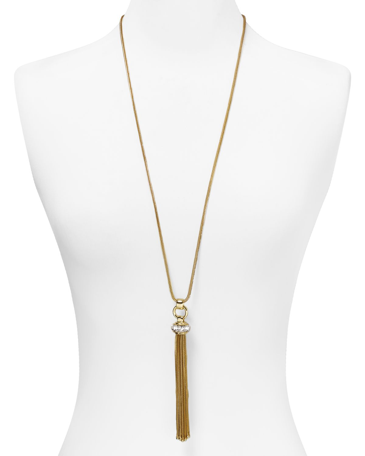 Buy Dogeared Balance Tube Bar Gold Plated Silver Necklace, 16