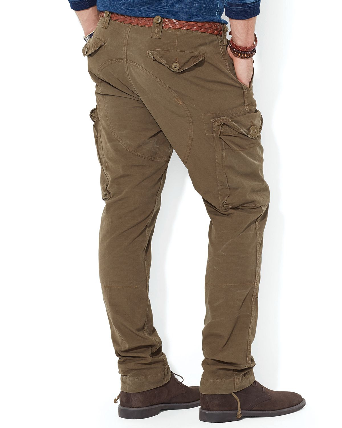 Ralph lauren Polo Ripstop Cargo Pants - Straight Fit in Green for ...