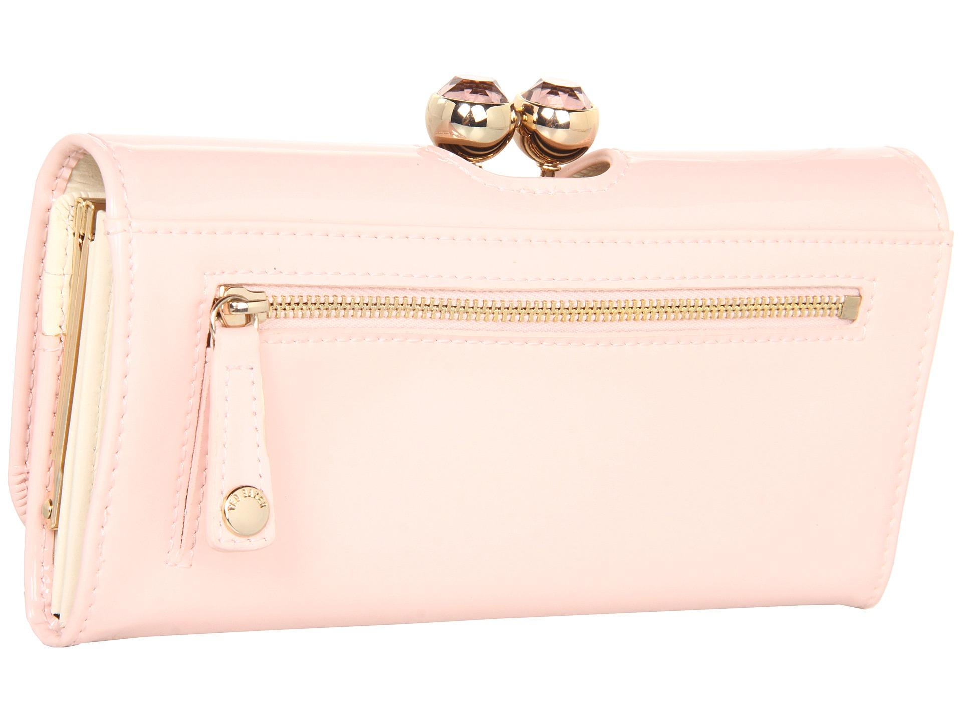 cb1bcd91fef1 Lyst - Ted Baker Kassady Crystal Bobble Matinee Purse in Pink