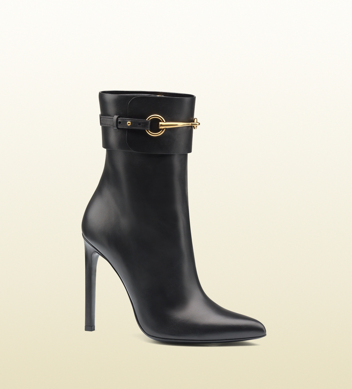 9427061beda Ankle Lyst Gucci Boot Black In Horsebit Leather PWtn8W6xF