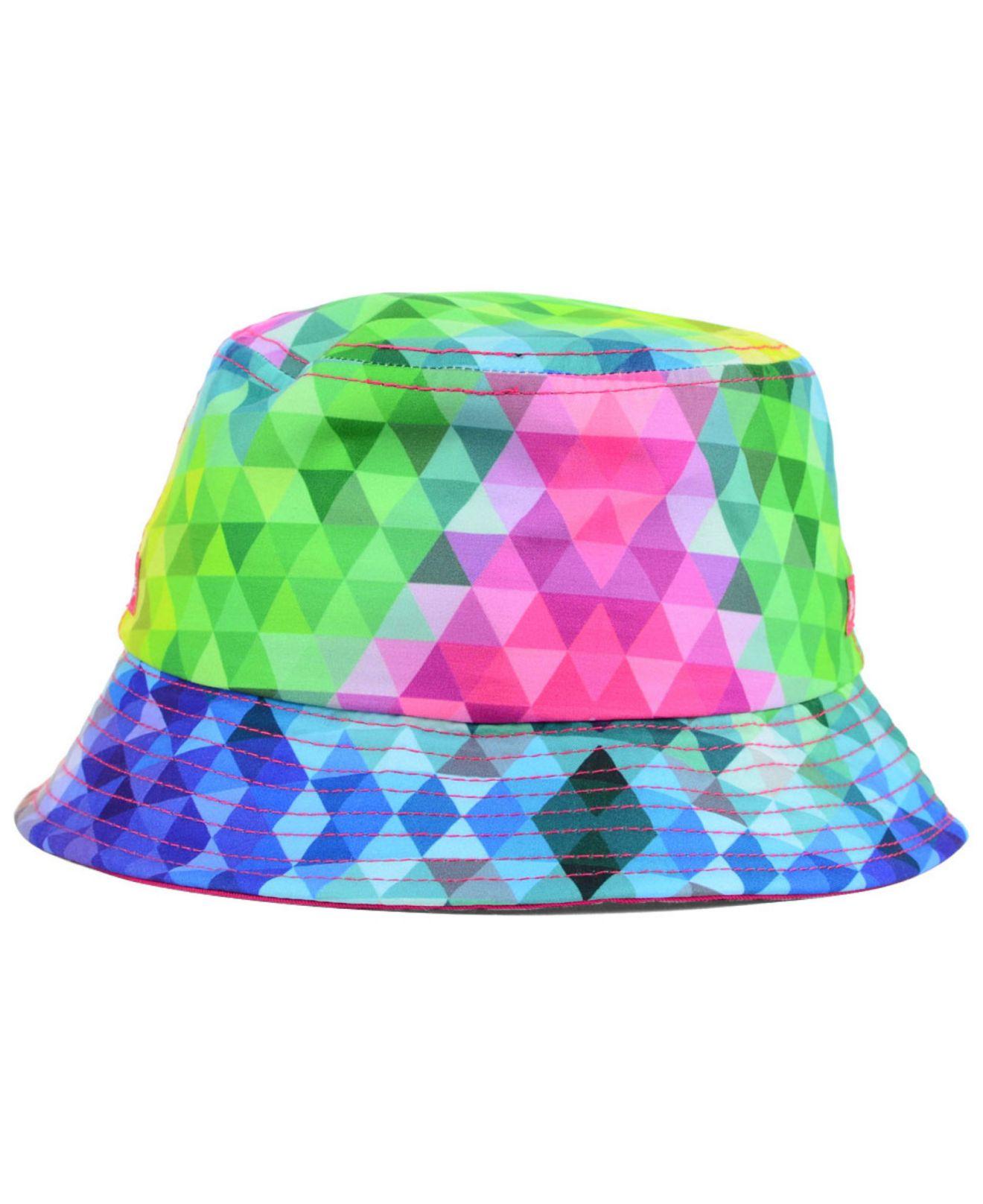 5e5fc10029097 ... closeout lyst ktz girls minnesota wild gem bucket hat 08939 f3605