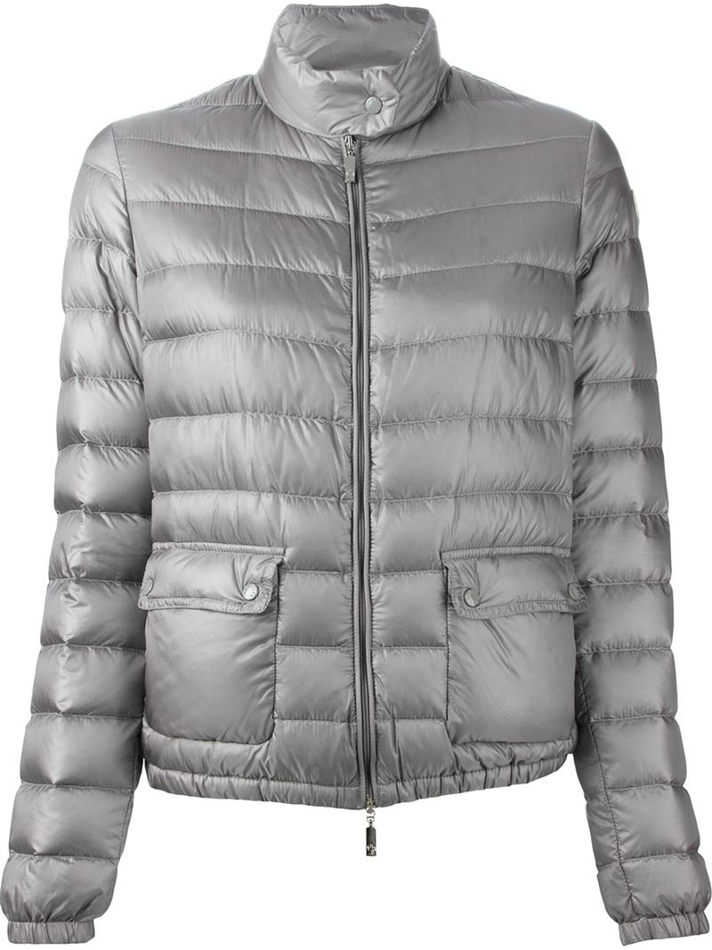 moncler grey womens jacket