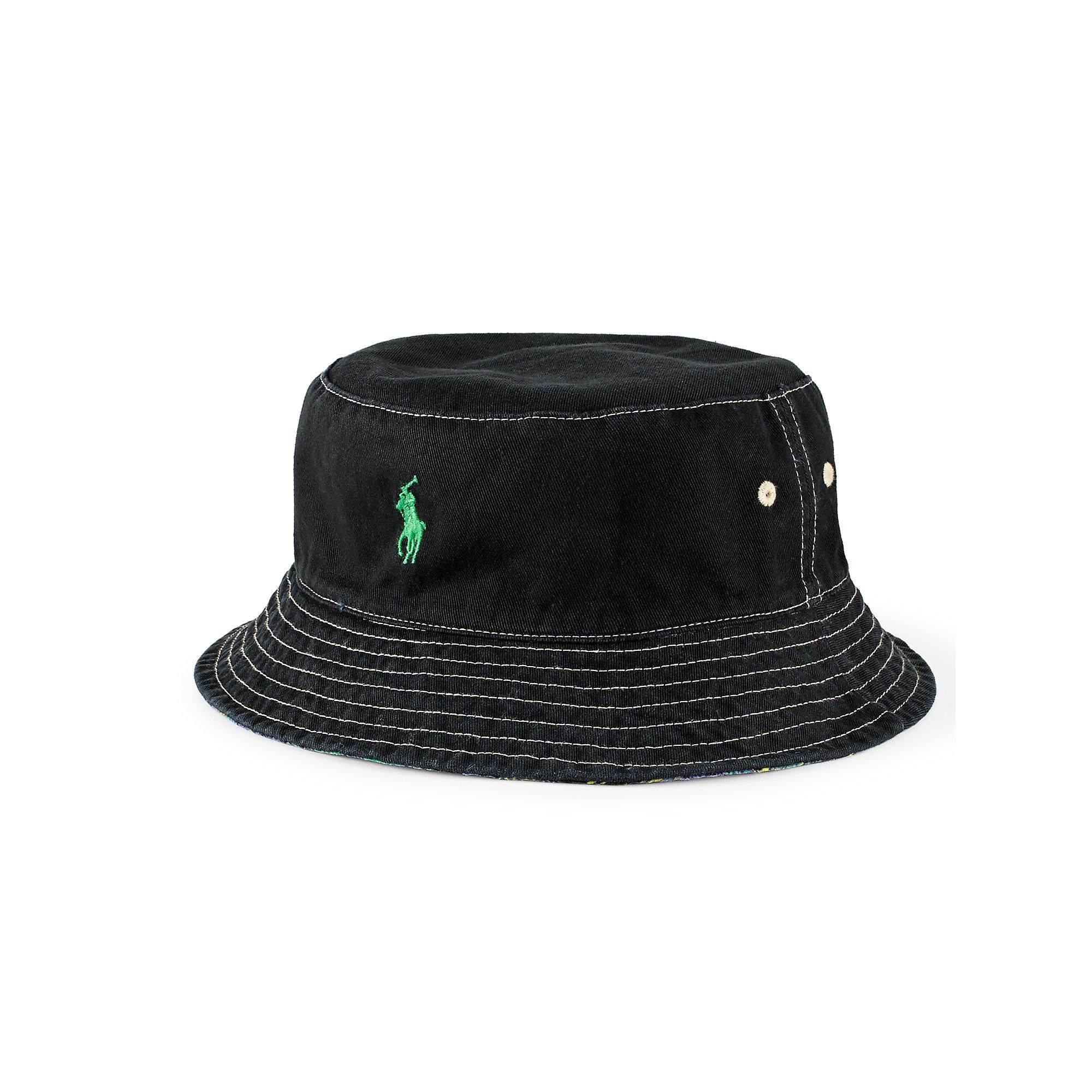 Lyst - Polo Ralph Lauren Reversible Twill Bucket Hat 7cece85aa76