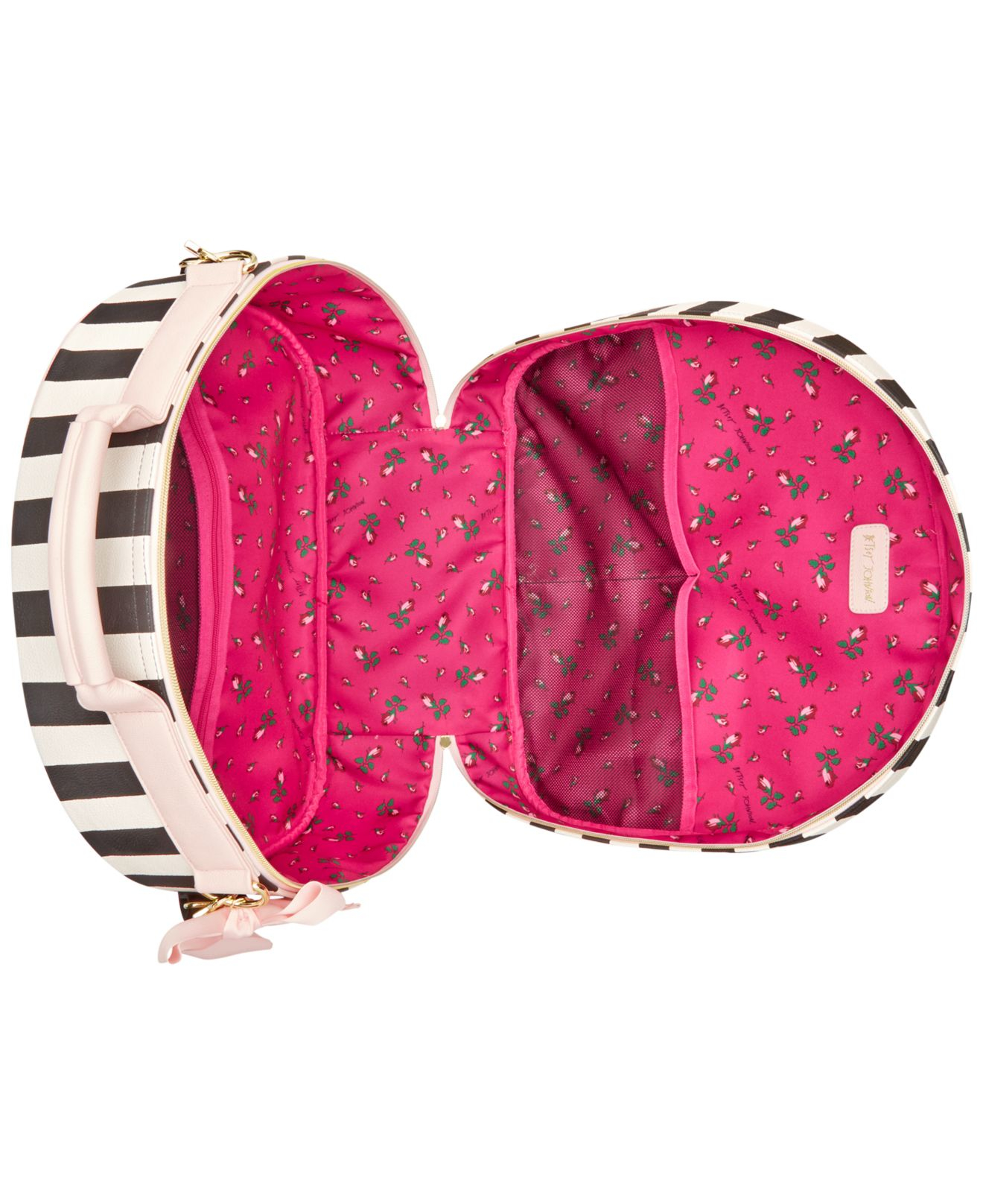 Betsey Johnson Hat Box Luggage In Pink Lyst