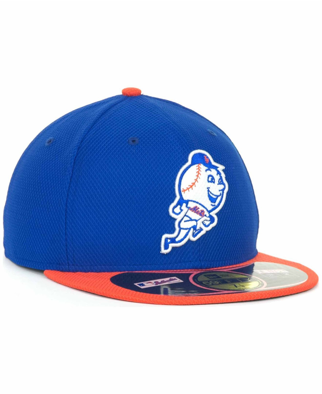 bbfff7b2aea Lyst - KTZ New York Mets 59fifty Fitted Cap in Blue for Men