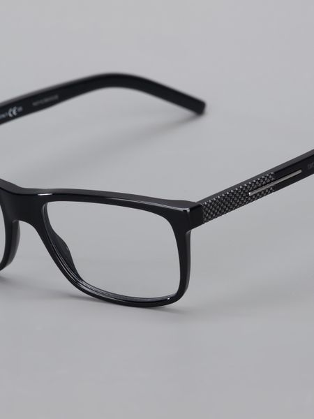Dior Glasses Frame 2014 : Dior Homme Square Frame Glasses in Black for Men Lyst