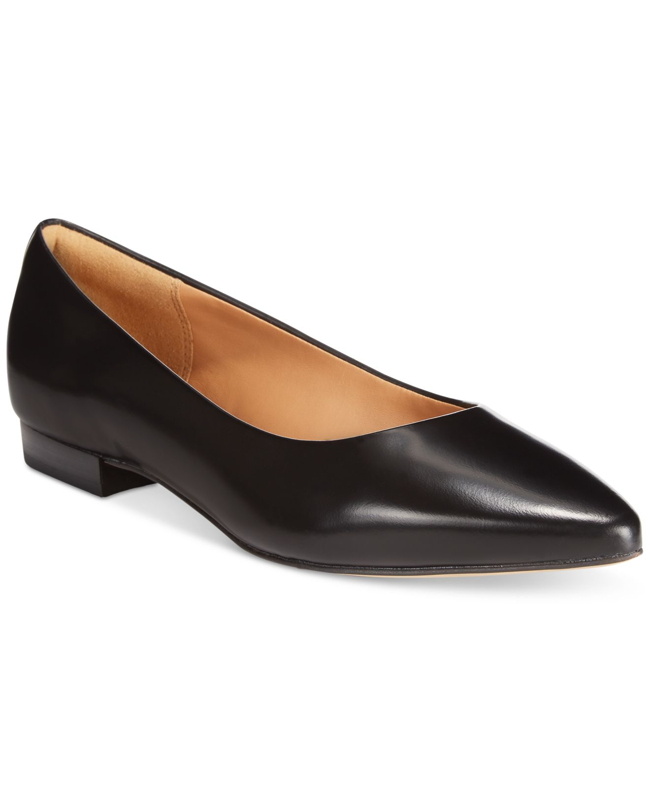 96a43c1f248f9 Lyst - Clarks Artisan Women s Corabeth Abby Pointed Toe Flats in Black