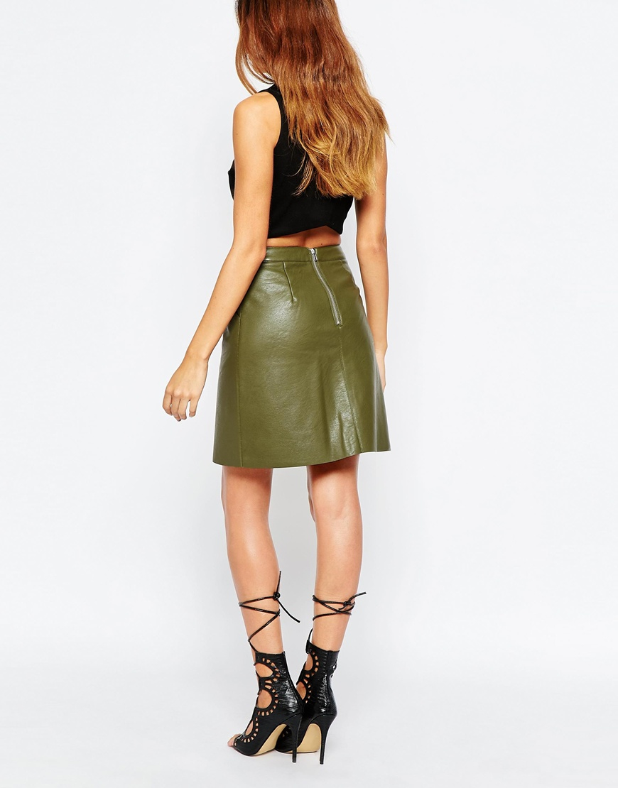 Free shipping and returns on Women's Faux Leather Skirts at cripatsur.ga