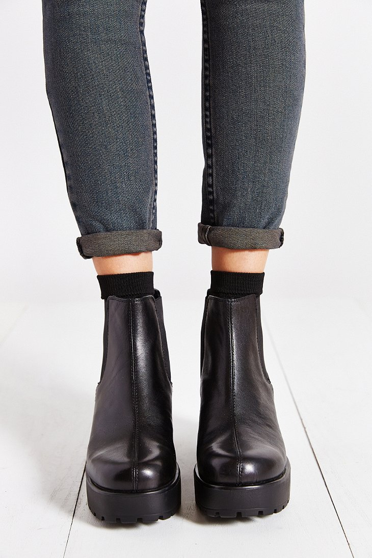 2f49c9a681 Lyst - Vagabond Dioon Chelsea Boot in Black