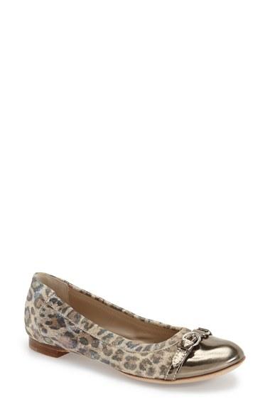Espirit Shoes Leopard Print Flats