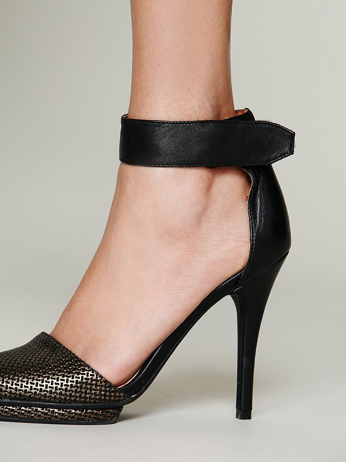 Free People Jeffrey Campbell Womens Solitaire Heel In