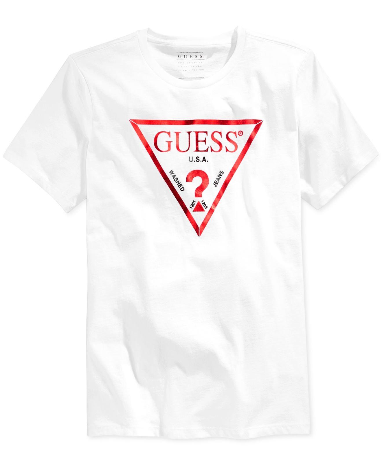 T-Shirt weiß Guess Cy412