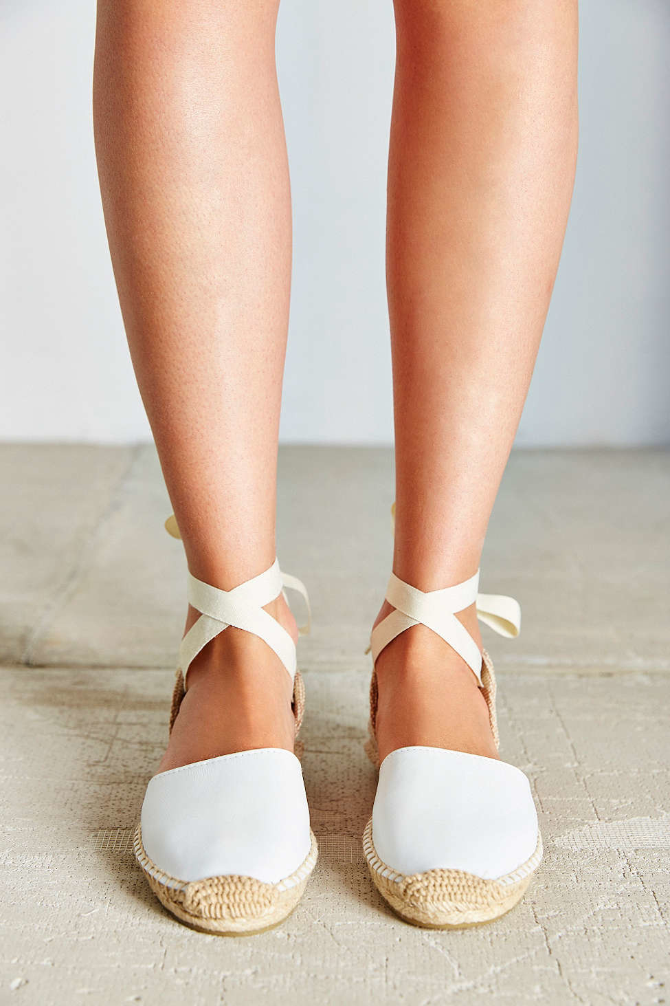 42755c269b14a Lyst - Soludos Classic Espadrille Sandal in White