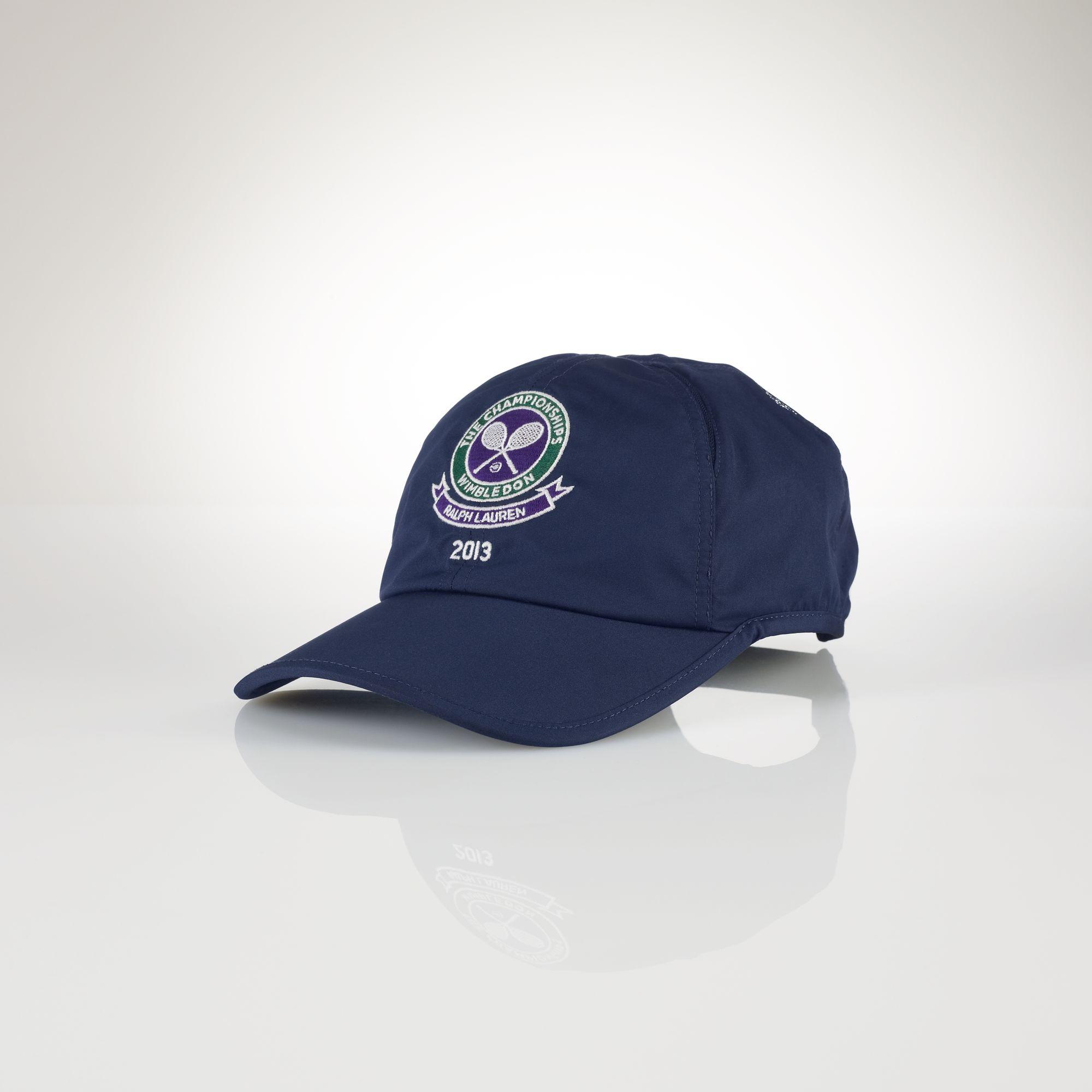 a3f88dccfbb07 Polo Ralph Lauren Wimbledon Cross Court Hat in Blue for Men - Lyst