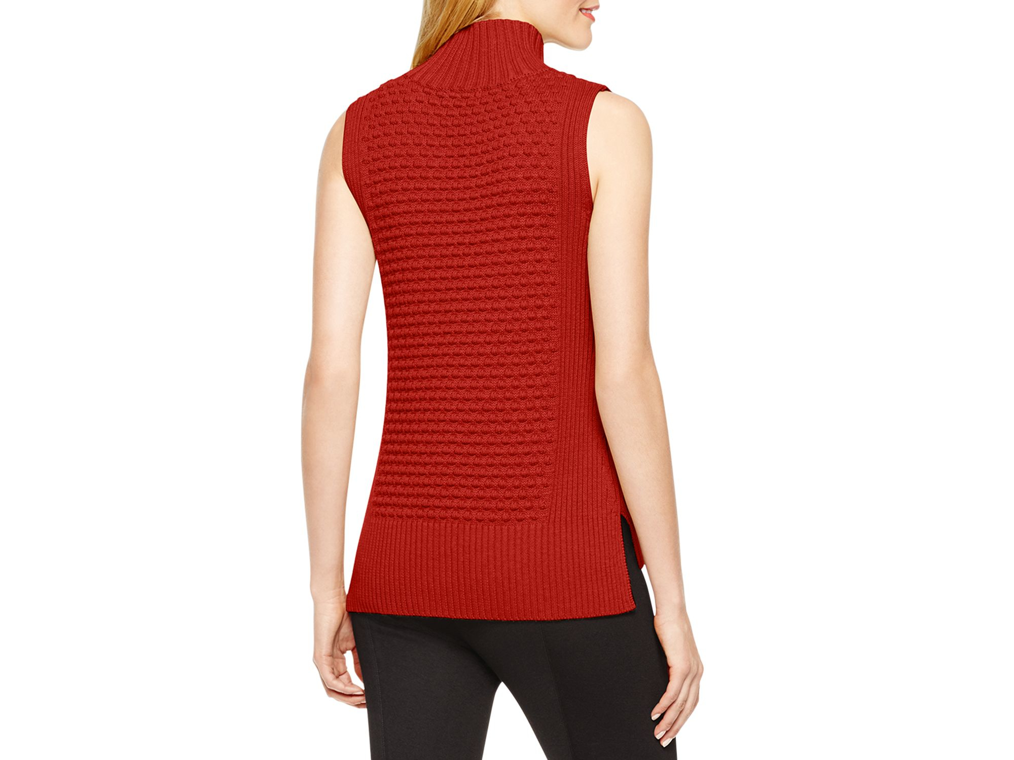 Vince Textured Mock Neck Sweater 52