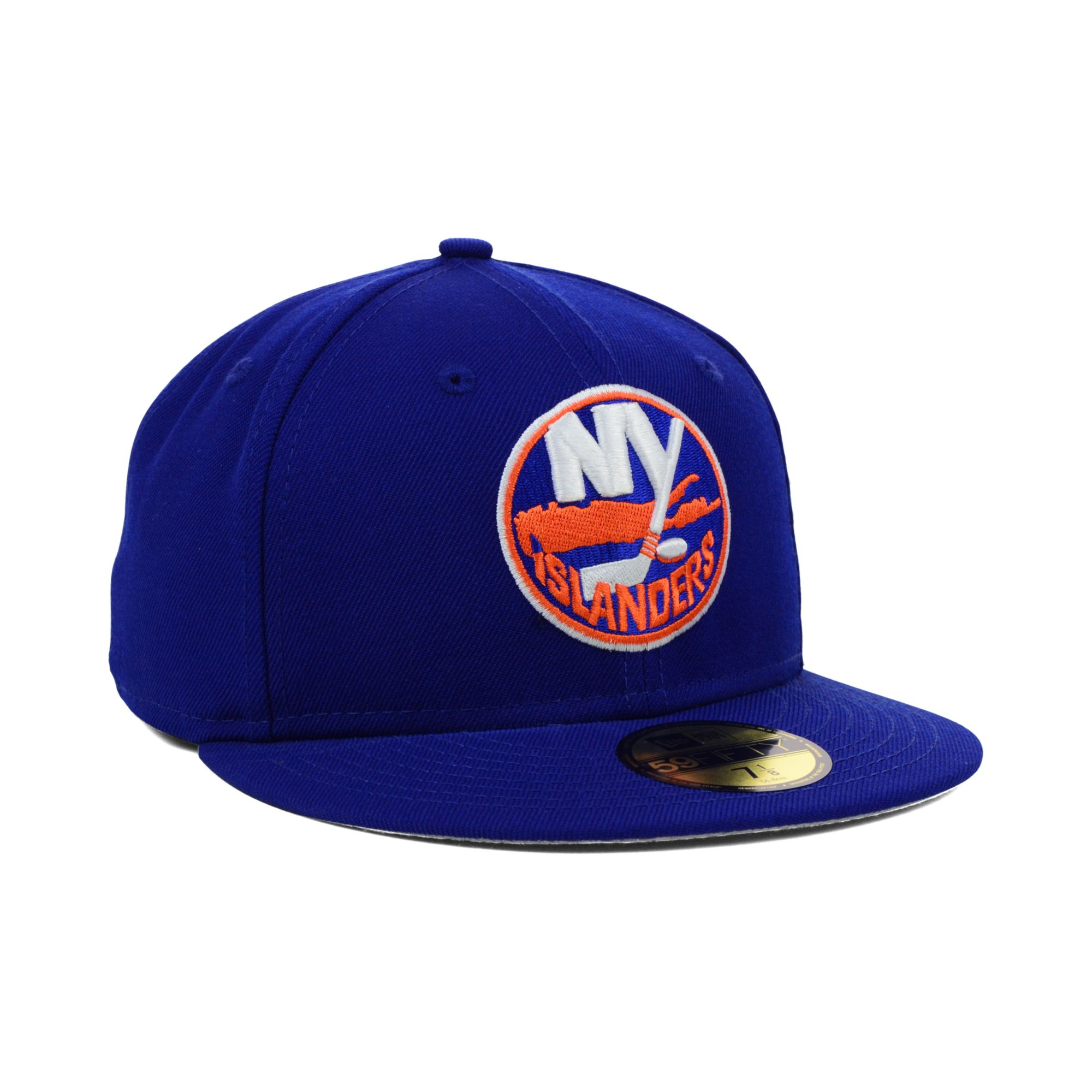 official photos 2bc35 a19fa ... denmark lyst ktz new york islanders nhl basic 59fifty cap in blue for  men da099 41b68