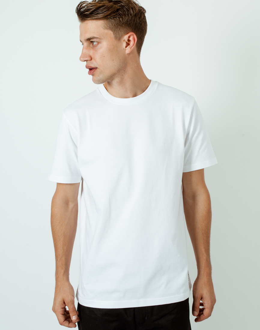 Lyst carhartt wip state t shirt white in white for men for Carhartt burgundy t shirt
