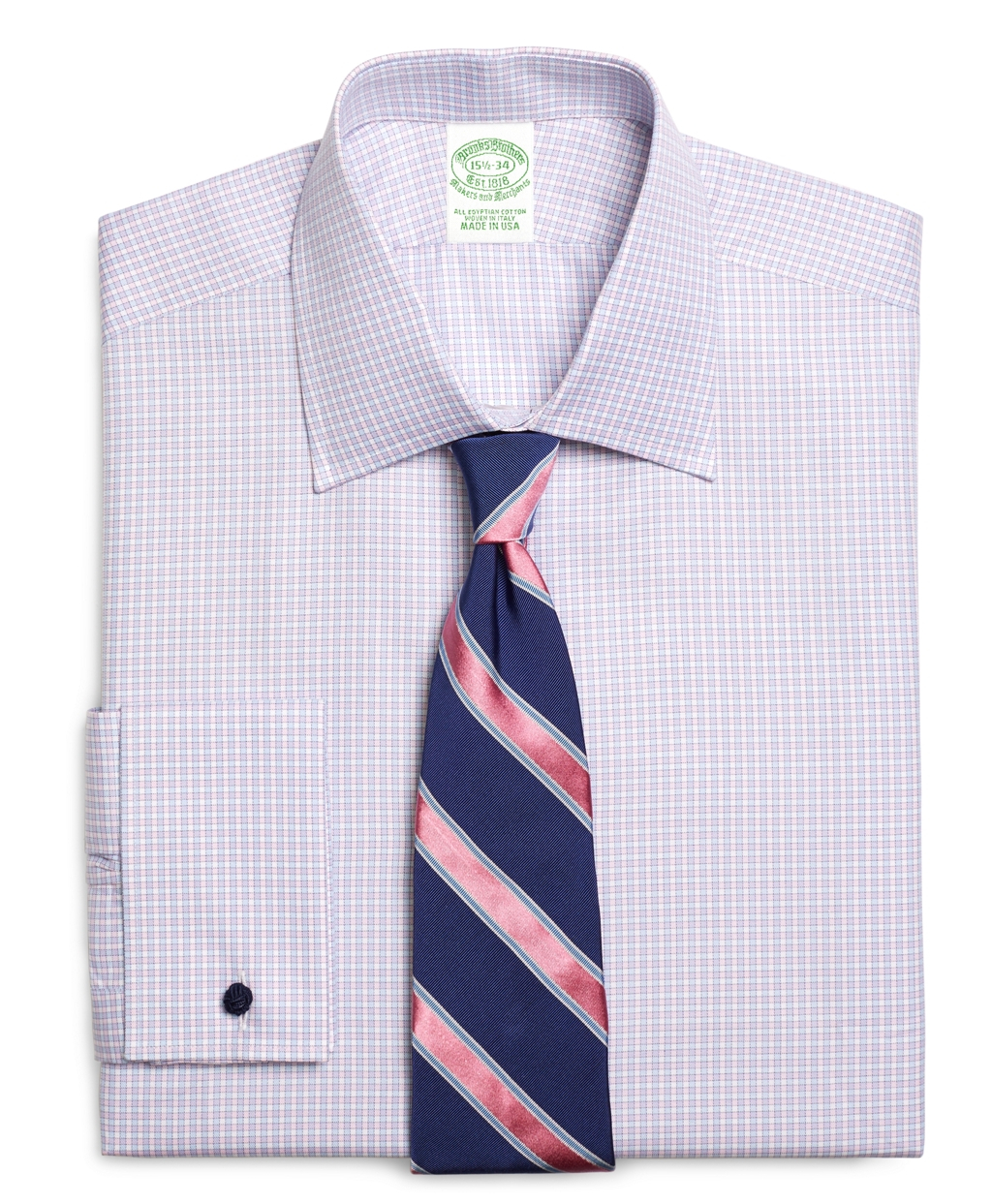 Brooks Brothers Egyptian Cotton Extraslim Fit Spread