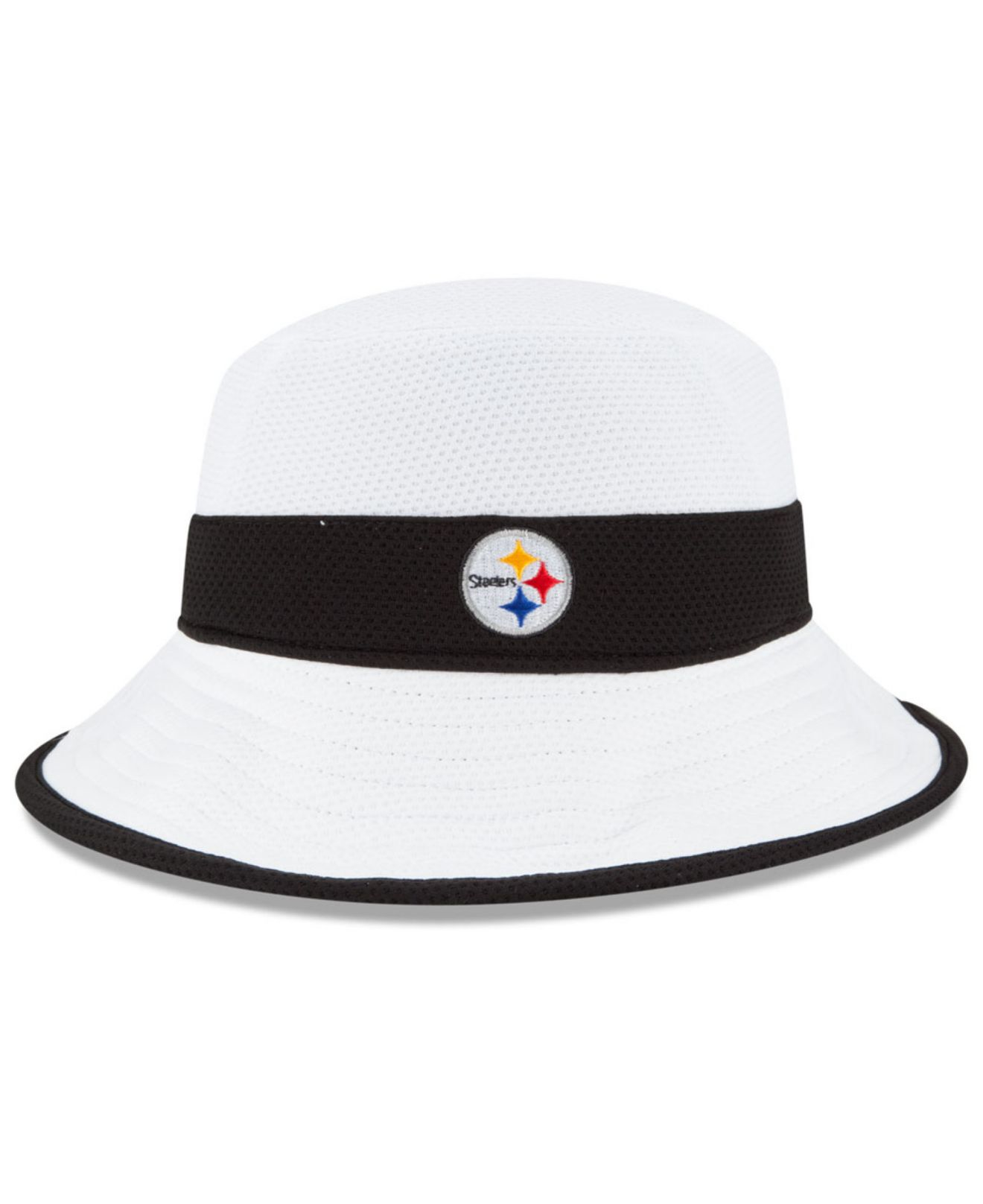 Lyst - KTZ Pittsburgh Steelers Training Camp Official Bucket Hat in ... f506fb328b6e