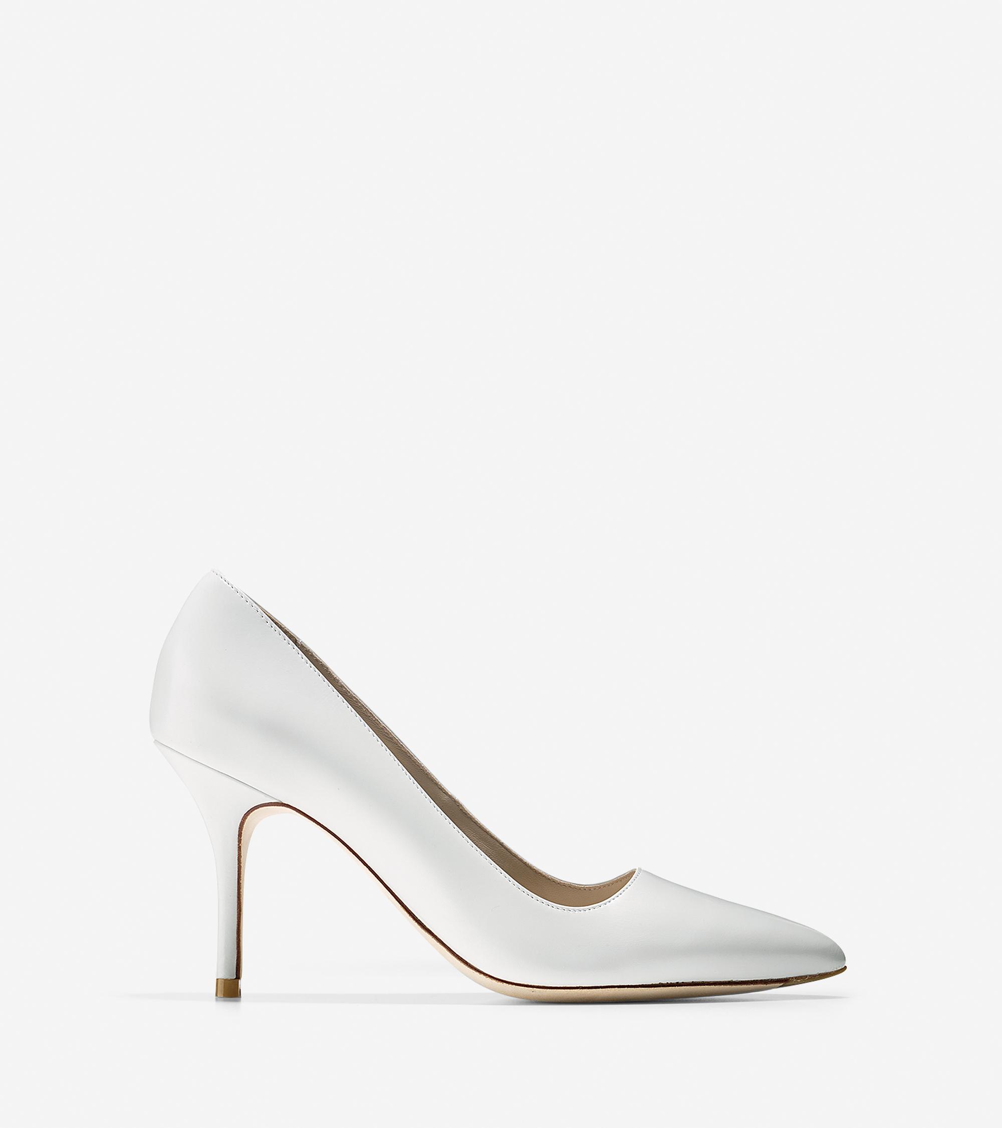 Womens Shoes Cole Haan Bradshaw Pump 85 Optic White