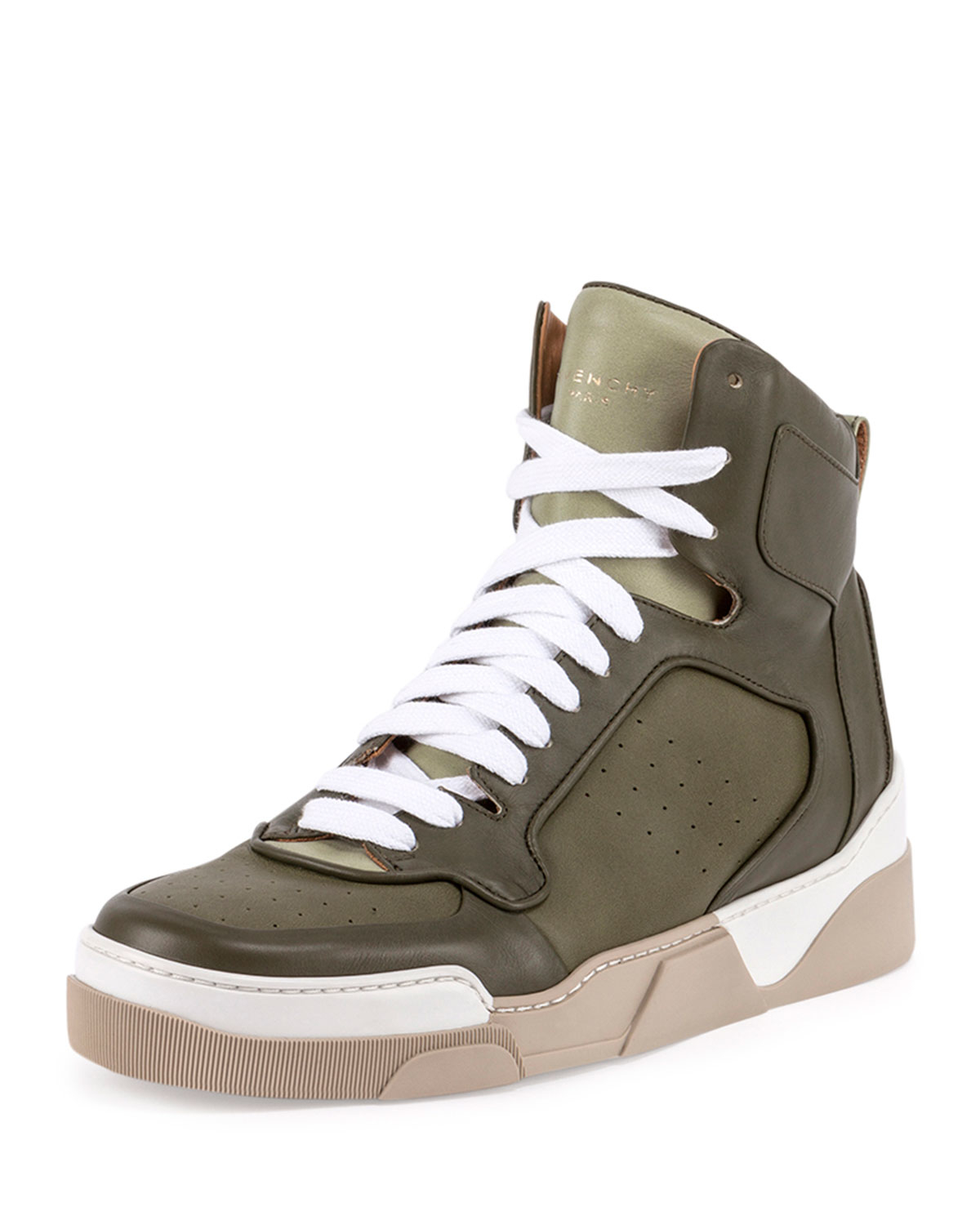 89a3607491cc Lyst - Givenchy Tyson Leather High-top Sneaker for Men