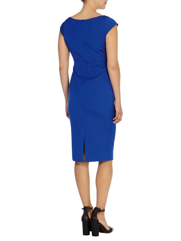 coast matena shift dress in blue lyst