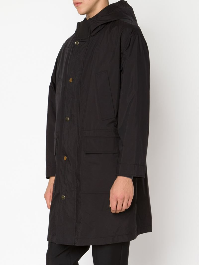 Valentino hooded parka - Black Clean And Classic pYOXb2