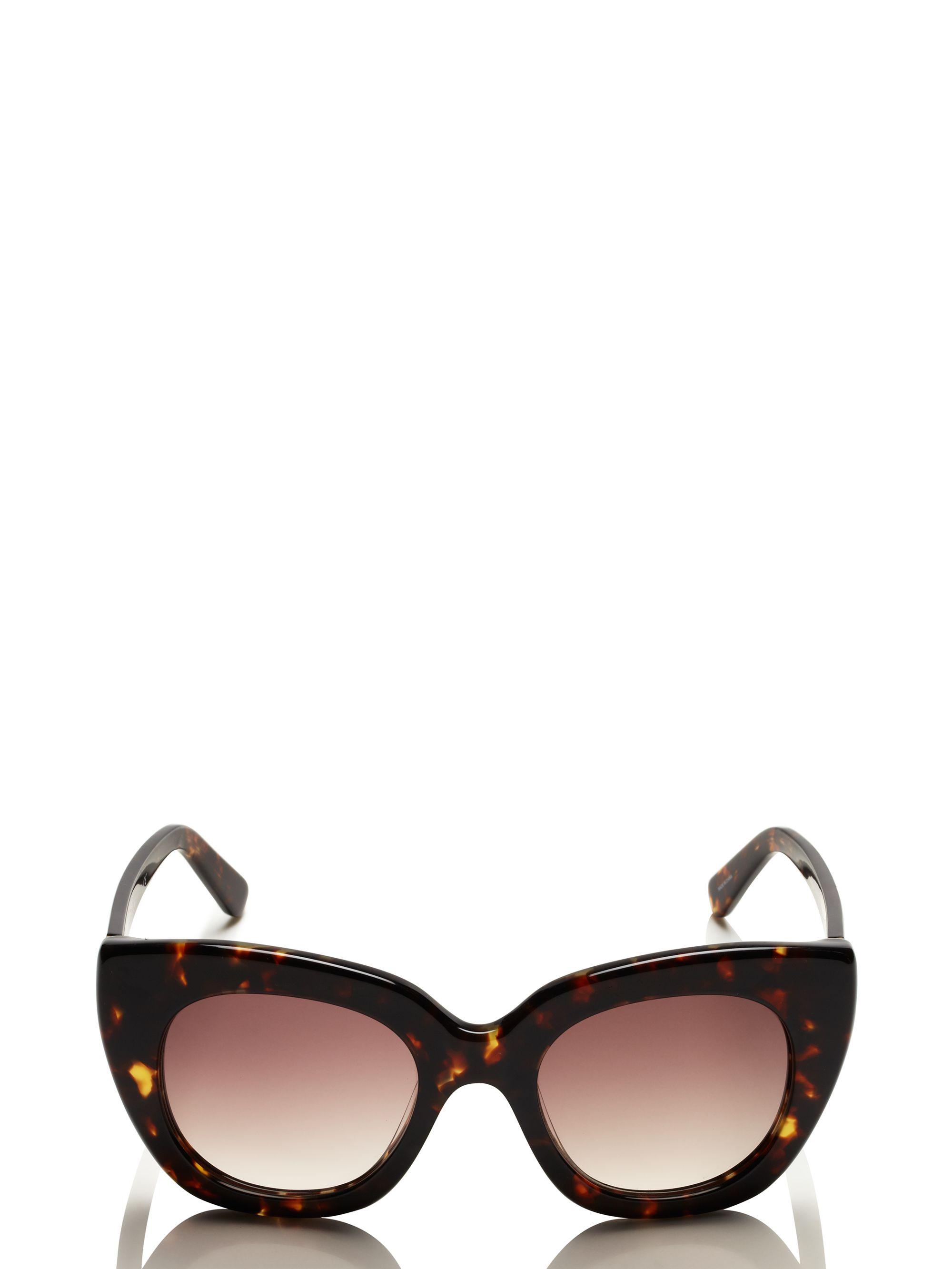 ec0507e14dba5 Kate Spade Narelle Sunglasses in Brown - Lyst