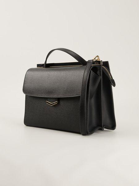 Fendi Demi Jour Shoulder Bag in Black